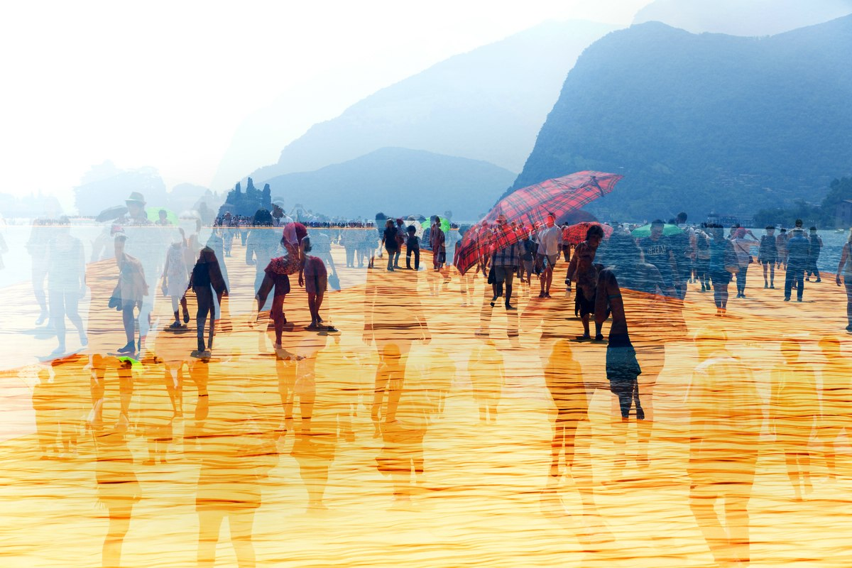 Floating Piers - Christo