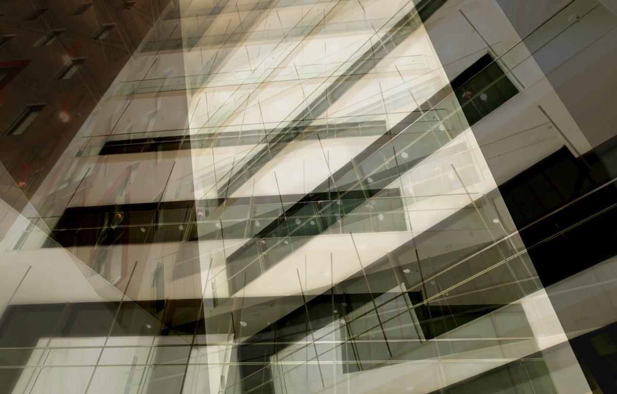 Fassadenansicht im HOLM, Frankfurt.
