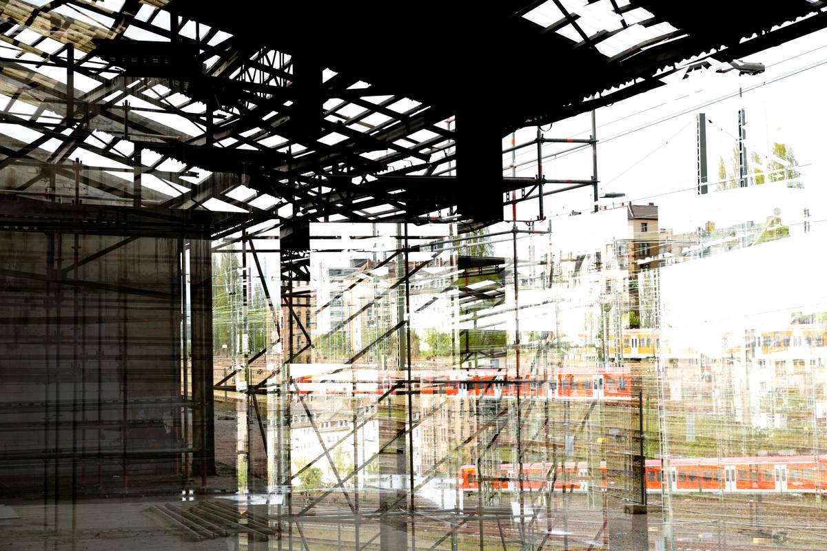 Impression einer Baustelle in Mainz